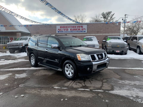 2005 Nissan Armada for sale at Brothers Auto Group in Youngstown OH