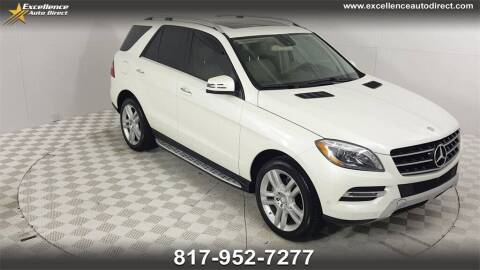 2014 Mercedes-Benz M-Class for sale at Excellence Auto Direct in Euless TX