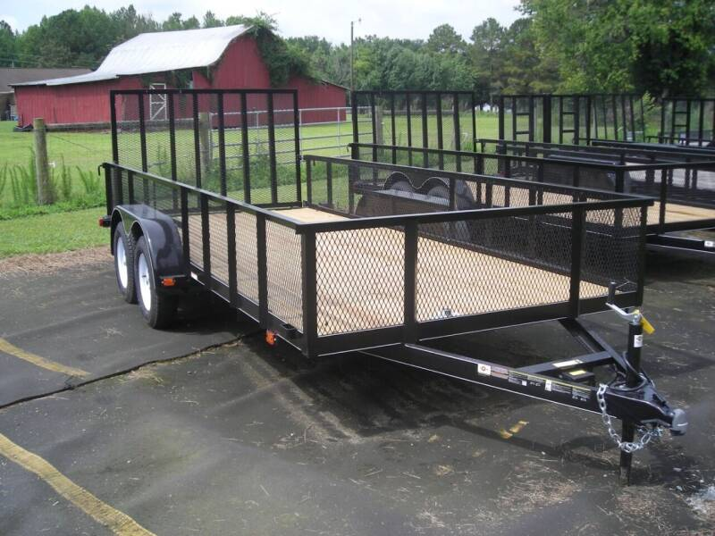 2020 New Carry-On 6'4x16 GW HS 1BRK Trailer for sale at Tripp Auto & Cycle Sales Inc in Grimesland NC