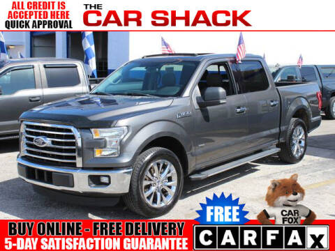 2016 Ford F-150 for sale at The Car Shack in Hialeah FL