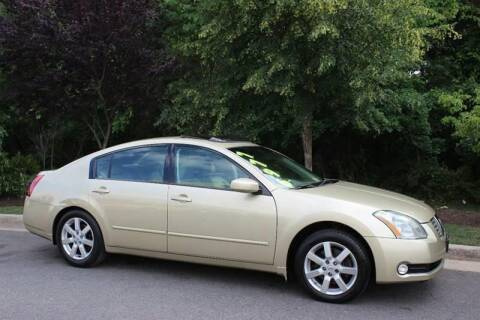2004 Nissan Maxima for sale at M & M Auto Brokers in Chantilly VA