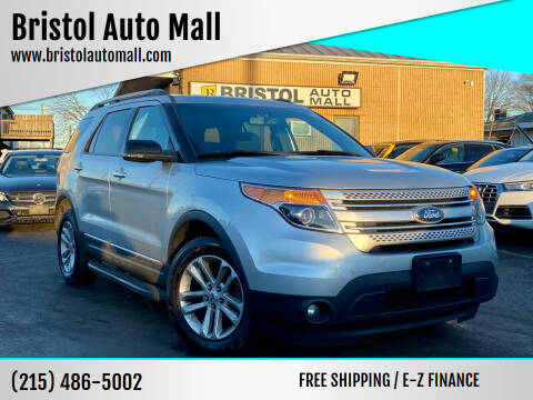 2012 Ford Explorer for sale at Bristol Auto Mall in Levittown PA
