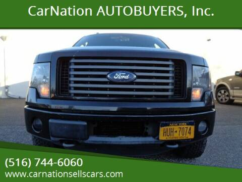 2011 Ford F-150 for sale at CarNation AUTOBUYERS, Inc. in Rockville Centre NY