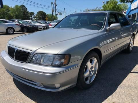 2000 Infiniti Q45 for sale at Capital Motors in Raleigh NC