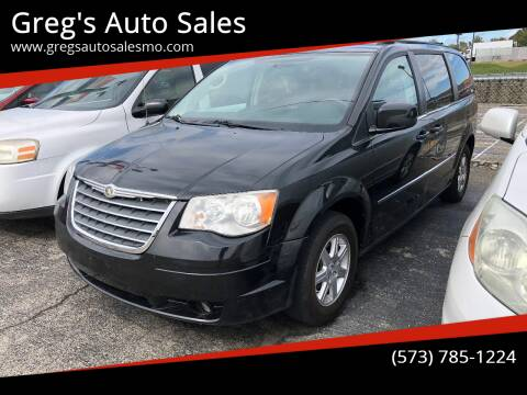 2010 Chrysler Town and Country for sale at Greg's Auto Sales in Poplar Bluff MO