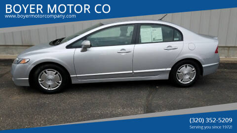 2011 Honda Civic for sale at BOYER MOTOR CO in Sauk Centre MN