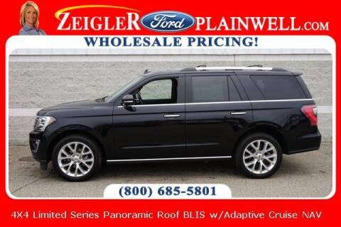 2019 Ford Expedition for sale at Zeigler Ford of Plainwell- Jeff Bishop in Plainwell MI