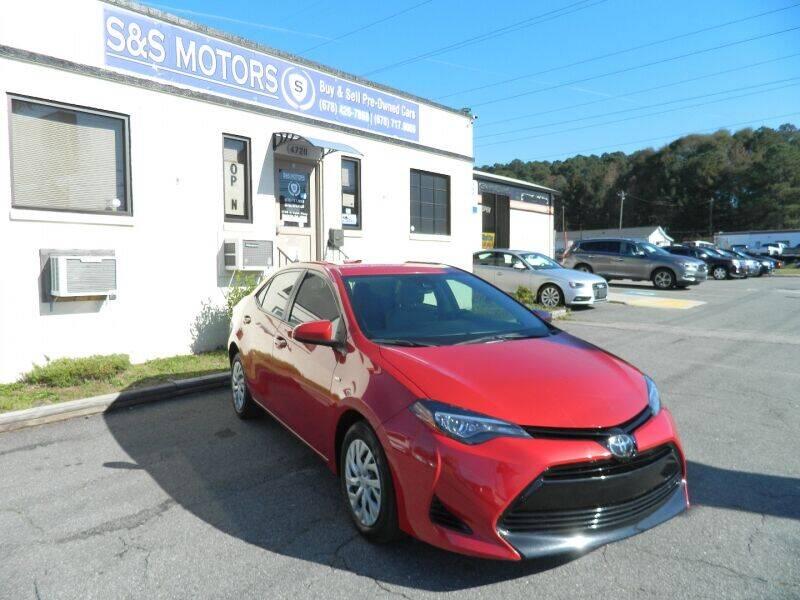 2017 Toyota Corolla for sale at S & S Motors in Marietta GA