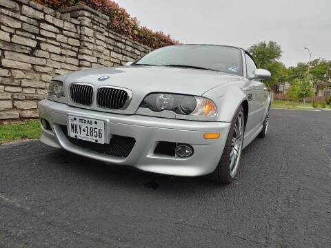 2005 BMW M3 for sale at The Car Shed in Burleson TX
