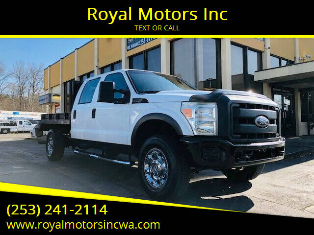 2011 Ford F-250 Super Duty for sale at Royal Motors Inc in Kent WA