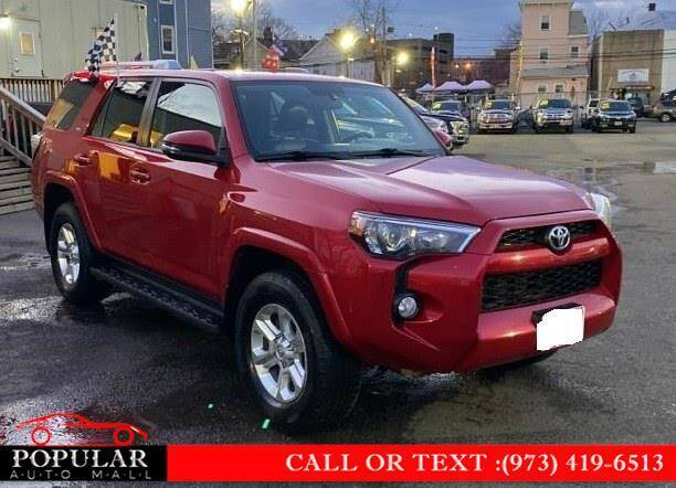 2014 Toyota 4Runner for sale at Popular Auto Mall Inc in Newark NJ