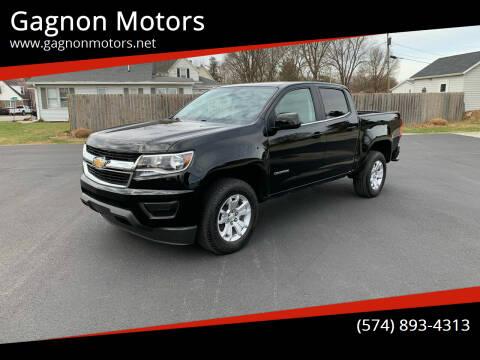 2018 Chevrolet Colorado for sale at Gagnon  Motors - Gagnon Motors in Akron IN