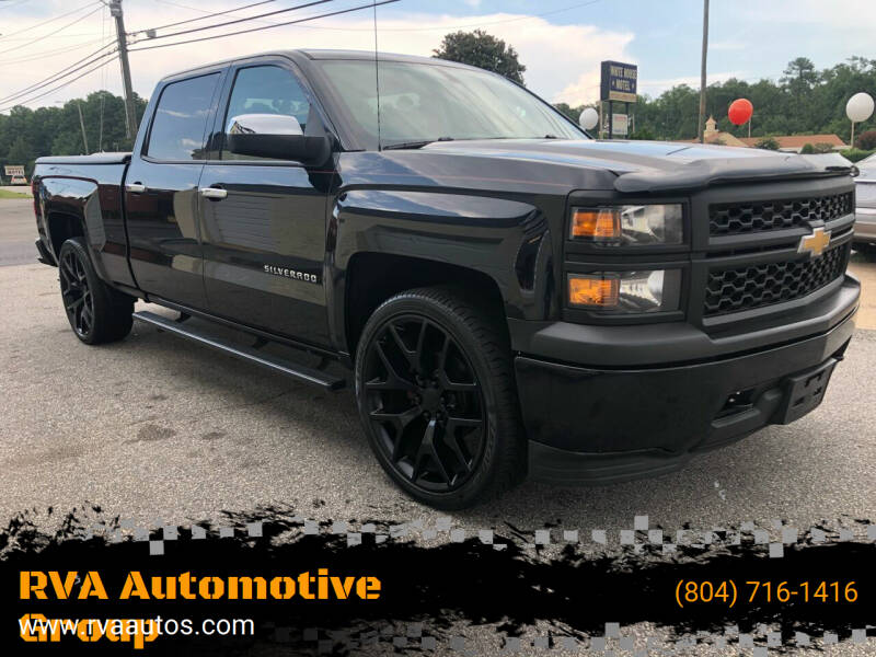 2014 Chevrolet Silverado 1500 for sale at RVA Automotive Group in North Chesterfield VA