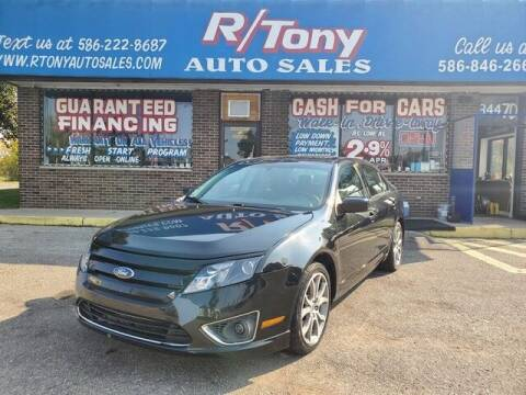 2010 Ford Fusion for sale at R Tony Auto Sales in Clinton Township MI
