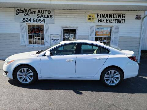 2014 Buick Regal for sale at STATE LINE AUTO SALES in New Church VA