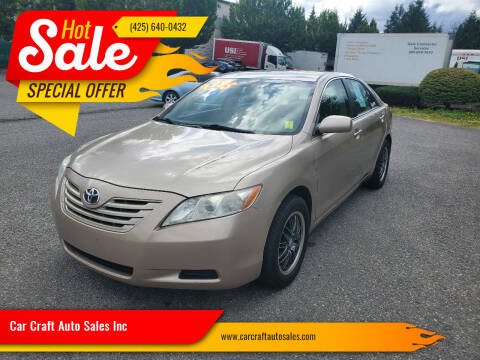 2009 Toyota Camry for sale at Car Craft Auto Sales Inc in Lynnwood WA