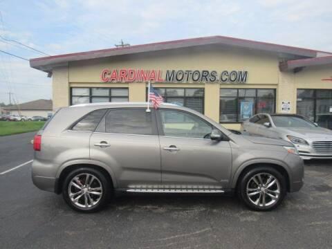 2014 Kia Sorento for sale at Cardinal Motors in Fairfield OH