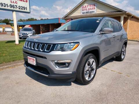 2019 Jeep Compass for sale at Gattis Auto Sales LLC in Winchester TN