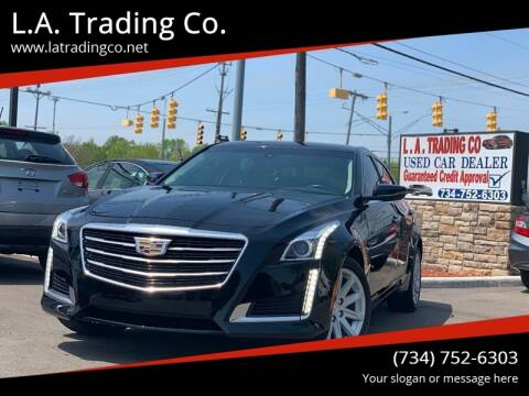 2016 Cadillac CTS for sale at L.A. Trading Co. in Woodhaven MI