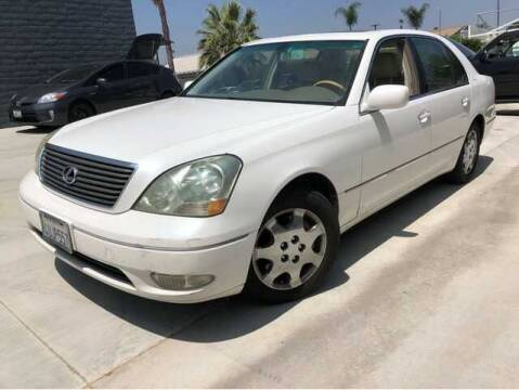 2002 Lexus LS 430 for sale at M&N Auto Service & Sales in El Cajon CA