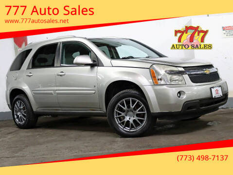 2007 Chevrolet Equinox for sale at 777 Auto Sales in Bedford Park IL