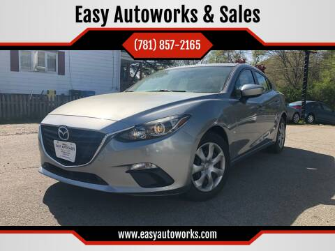 2014 Mazda MAZDA3 for sale at Easy Autoworks & Sales in Whitman MA
