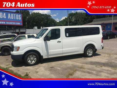 2013 Nissan NV Passenger for sale at 704 Autos in Statesville NC