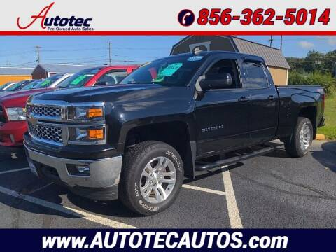 2015 Chevrolet Silverado 1500 for sale at Autotec Auto Sales in Vineland NJ