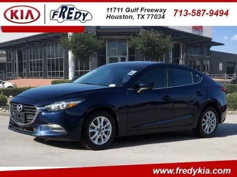 2018 Mazda MAZDA3 for sale at FREDY KIA USED CARS in Houston TX