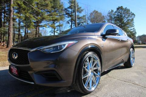 2017 Infiniti QX30 for sale at Oak City Motors in Garner NC