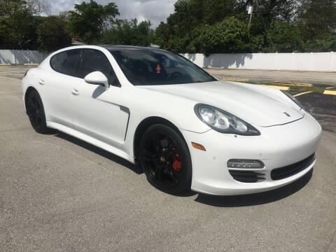 2012 Porsche Panamera for sale at Guru Auto Sales in Miramar FL