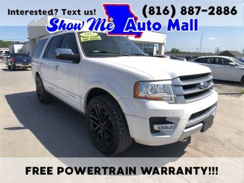 2017 Ford Expedition for sale at Show Me Auto Mall in Harrisonville MO