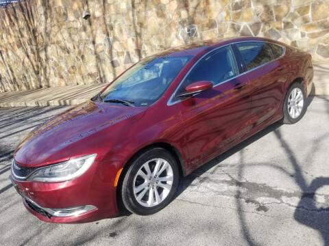 2015 Chrysler 200 for sale at GMG AUTO SALES in Scranton PA