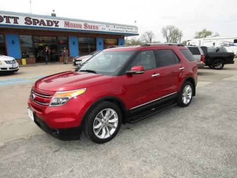 2011 Ford Explorer for sale at Scott Spady Motor Sales LLC in Hastings NE