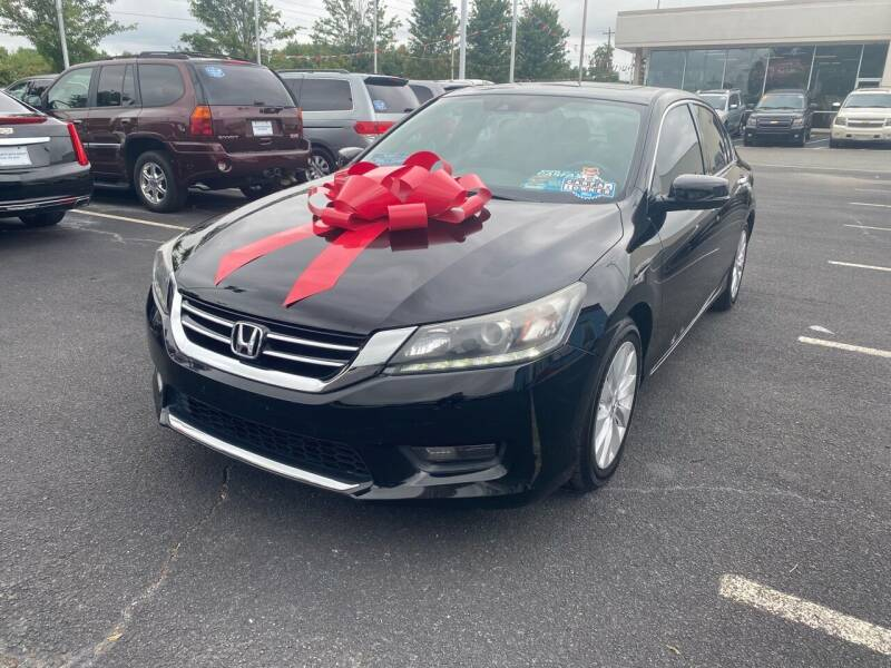 2014 Honda Accord for sale at Charlotte Auto Group, Inc in Monroe NC