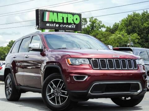 2019 Jeep Grand Cherokee for sale at Metro Auto Credit in Smyrna GA