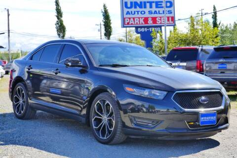 2013 Ford Taurus for sale at United Auto Sales in Anchorage AK