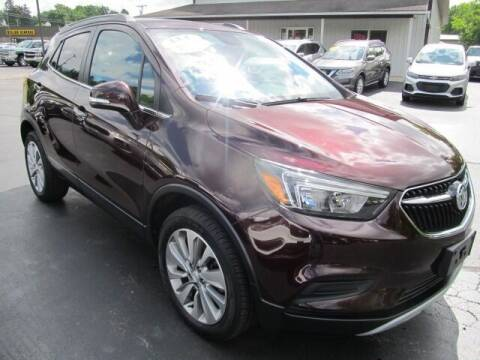2018 Buick Encore for sale at Thompson Motors LLC in Attica NY