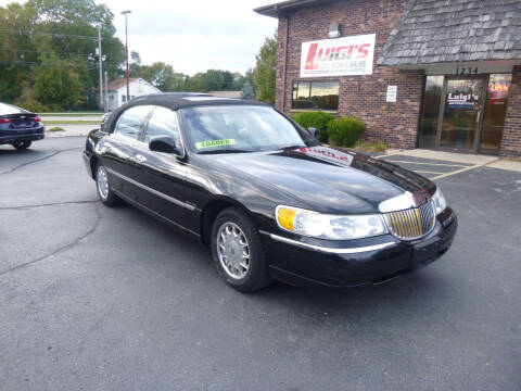 1999 Lincoln Town Car for sale at Luigi's Automotive Collision Repair & Sales in Kenosha WI