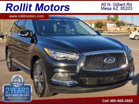 2017 Infiniti QX60 for sale at Rollit Motors in Mesa AZ