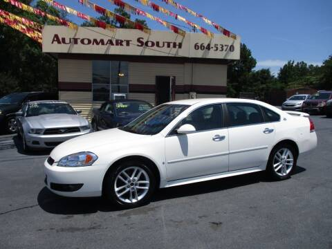 2009 Chevrolet Impala for sale at Automart South in Alabaster AL