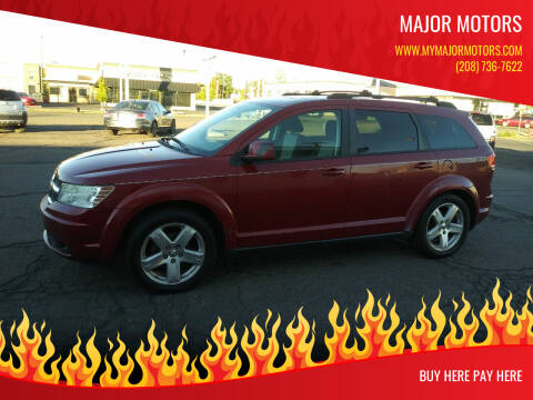 2009 Dodge Journey for sale at Major Motors in Twin Falls ID
