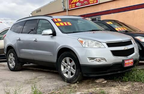 2010 Chevrolet Traverse for sale at SOLOMA AUTO SALES 2 in Grand Island NE