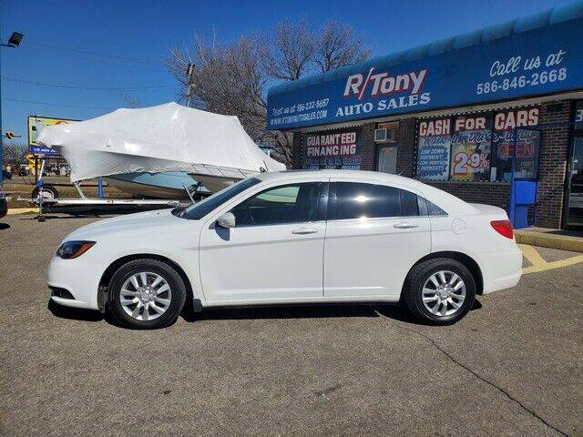 2012 Chrysler 200 for sale at R Tony Auto Sales in Clinton Township MI
