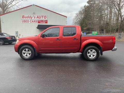 2012 Nissan Frontier for sale at Buddy's Auto Inc in Pendleton SC