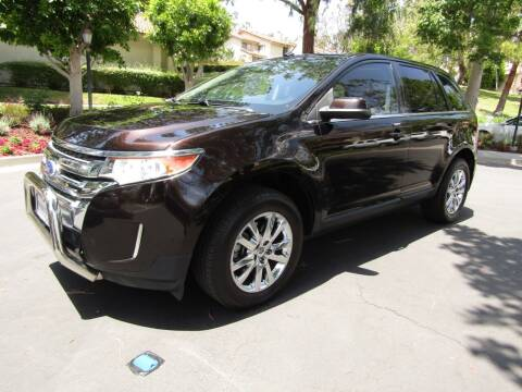 2013 Ford Edge for sale at E MOTORCARS in Fullerton CA