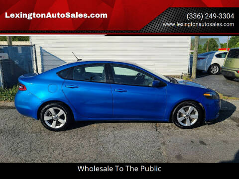2015 Dodge Dart for sale at LexingtonAutoSales.com in Lexington NC