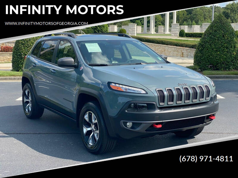 2014 Jeep Cherokee for sale at INFINITY MOTORS in Gainesville GA