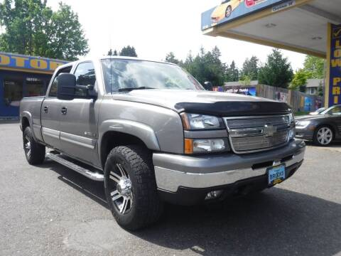 2007 Chevrolet Silverado 1500HD Classic for sale at Brooks Motor Company, Inc in Milwaukie OR