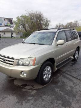 2003 Toyota Highlander for sale at Bates Auto & Truck Center in Zanesville OH